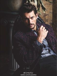 'The Timeless Man' David Gandy covers FHM Collections China A/W 2014 edition; photos by clothing by In the aptly-titled editorial, Jumbo Tsui beautifully captures David Gandy's. David Gandy, Dolce E Gabbana, Alfred Stieglitz, Perfect Man, Gorgeous Men, Apocalypse, Male Models, Supermodels, Sexy Men