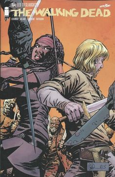 The Walking Dead comic issue 154
