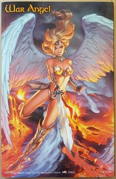 983683d2120f65 Lady Death Unholy Ruin  1 - 1st Appearance Edition - War Angel and A6  Original Sketch from Sabine Rich s shop