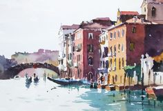Light and Movement in Venice: Watercolour Paintings by Jake Winkle ...