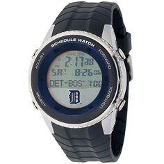 Detroit Tigers Mens Schedule Wrist Watch
