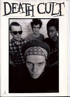 Death Cult - Early Press Picture