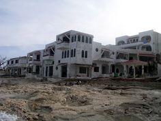 Scuba Club, Cozumel after Hurricane Wilma Oct. 2005