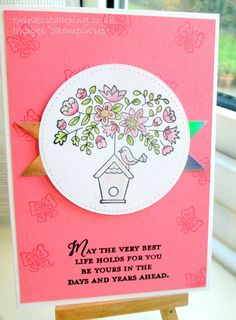 Twinks Stamping | Stampin' Up! Demonstrator: New Home - Flying Home
