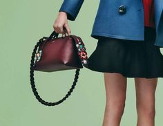 Check Out Fendi's Just-Debuted Pre-Fall 2016 Handbags