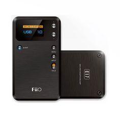 FiiO E17 Portable Headphone Amplifier with USB Digital Audio Converter (DAC)