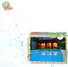 In The Scrap: Layout Summer - Por Florencia