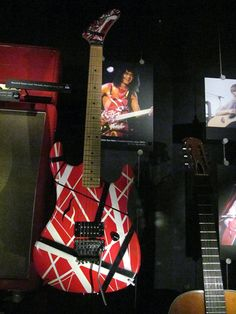 "Eddie Van Halen's 1984 Kramer This guitar was custom-made by Kramer for the legendary Eddie Van Halen and was subsequently used on the ""1984"" tour."