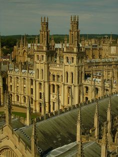 All Souls College - Oxford - England (von Harshil.Shah)