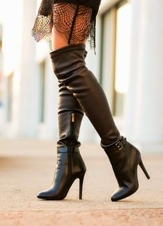 Great boots. #heels #shoes #boots #fashion #footwear