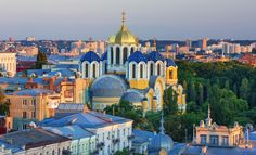 Rich in old world charm and generosity, Ukraine is a traveling adventure for teachers who wish to experience Europe's second-largest - but largely unexplored - country. Most Beautiful, Beautiful Places, U.s. States, Old World Charm, The Locals, Taj Mahal, Cathedral, Places To Visit, Around The Worlds