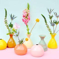 Leif - Ceramic Pebble Vases