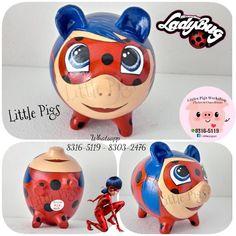 - Little Pigs Workshop Color Crafts, Little Pigs, Girl Room, Ladybug, Workshop, Piggy Banks, Marvel, Dyi, Disney