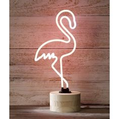 Neon Flamingo Table Lamp