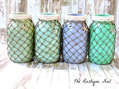 The Little Mermaid centerpiece,nautical jars,under the sea centerpiece,mermaid nursery,mermaid centerpiece,beach centerpiece,mermaid party by TheRustiqueNail on Etsy https://www.etsy.com/listing/232018927/the-little-mermaid-centerpiecenautical