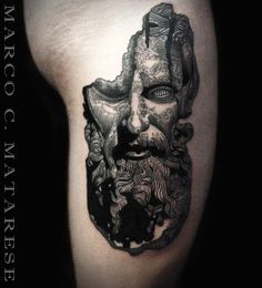 Sculpture, mens, placement, ideas | Tattoo - incisione, blackwork, etching…