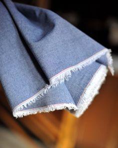 Cotton Chambray Denim Blue | Merchant & Mills | £6.95