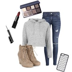 Bring on the cold.... by tessaart132 on Polyvore featuring polyvore, fashion, style, Topshop, H&M, CellPowerCases, Bobbi Brown Cosmetics, NARS Cosmetics and MAC Cosmetics