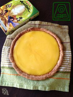 "Food Adventures (in fiction!): Egg Custard Tart from ""Avatar: The Last Airbender"""