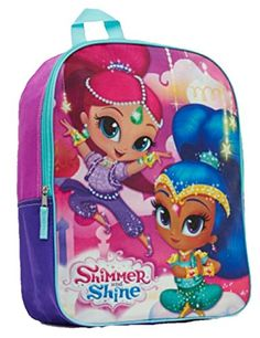 Shimmer and Shine Backpack Full Size 16 inch Nickelodeon Book Bag NEW Best Christmas Toys, Kids Christmas, Purple Accessories, Jojo Bows, Backpack With Wheels, Trolley Bags, Toys For Girls, Kids Toys, Shimmer N Shine