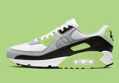 While by no means on hiatus, the Nike Air Max 90 has recently allowed several of its Air Max kin to bask in the spotlight. The latest from the silhouette, however, demands all attention back on the Retro Jordans 11, Nike Air Jordans, Nike Basketball Shoes, Nike Shoes, Nike Air Force, Nike Air Max, Air Max Sneakers, Sneakers Nike