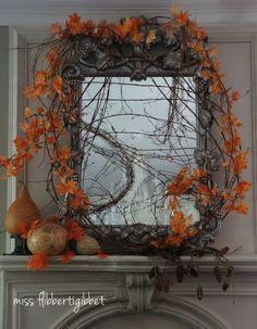 Classically Trendy Fall Mantel Inspiration ~ DIY Friday