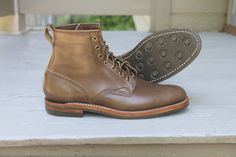Dayton Service Boot in Icy Chromexcel