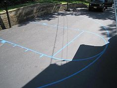 Basketball Courts For Your Driveway On Pinterest