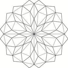 Трансформации плоскости в объем с помощью складок Origami Wall Art, Paper Crafts Origami, Geometric Origami, Origami Design, Diy Resin Art, Origami Patterns, Paper Architecture, Paper Pop, Origami Stars