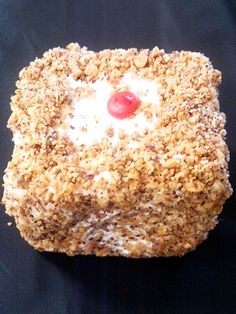 Clinton, Iowa is home to Sweetheart Bakery, where Blarney Stones, a sweet treat unique to the area, are made. We're talking squares of homemade yellow cake covered in buttercream frosting and a coating of ground, salted Spanish peanuts.