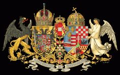 The full arms of Austria-Hungary