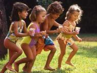 Diversin en familia: Juegos al aire libre con nios