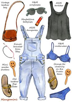 Posts about dungarees written by Mangomini Fashion Flats, Fashion Art, Fashion Beauty, Fashion Outfits, Womens Fashion, Fashion Design Drawings, Fashion Sketches, Illustration Sketches, Illustrations