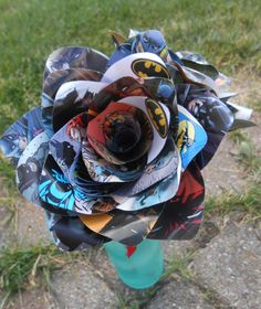 Comic Book Roses. First Anniversary, Home Decor, Wedding Bridal Bouquet, Birthday Gift. by JustCyndy on Etsy