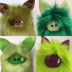 It ain't easy being green... unless you are a Fuzzling