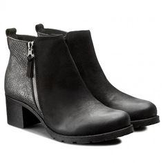Polokozačky SERGIO BARDI - Lena FW12727217LK 401 Booty, Ankle, Shoes, Fashion, Moda, Swag, Zapatos, Wall Plug, Shoes Outlet