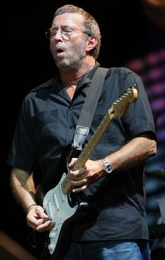 A true icon, Eric Clapton! He's still rocking hard as ever.