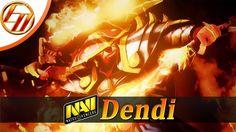 Dendi  Ember Spirit  Dota 2 Pro Gameplay | Dendi Fullgame