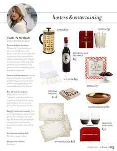 #toandfrom #entertaining gift ideas for the #hostess