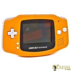Nintendo GBA Gameboy Advance Retro Game Handheld Console Spice Orange Japan in Video Games & Consoles, Consoles | eBay