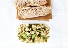 Pesto Chicken Roll / 27 Awesome Easy Lunches To Bring To Work (via BuzzFeed)