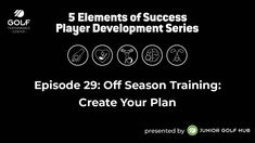 Episode #29: Off Season Training: Create Your Plan. In this episode Roger and the team discuss the importance of creating a plan for off season training, both physically and mentally. The post GPC 5 Elements of Success Series – Episode #29 appeared first on FOGOLF.