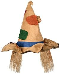 Scarecrow Hat. Wonder if this would fit the babe for her halloween costume?