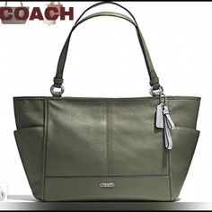 e41fb2bfec3 Spotted while shopping on Poshmark  Coach Olive Carrie tote!  poshmark   fashion