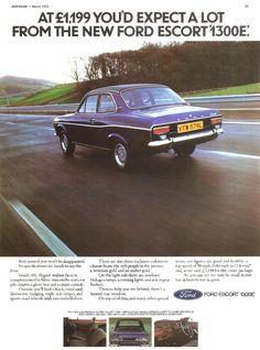 1973 Ford Escort 1300E (UK)