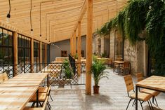 Completed in 2018 in Etyek, Hungary. Images by Eszter Sarah. There had been a house and an almost wine cellar on the same plot since the I had to take these circumstances into consideration. Terrace Restaurant, Backyard, Patio, Jpg, Wine Cellar, Amazing Architecture, Steel Frame, Pergola, Outdoor Structures