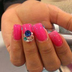 Pink n stones