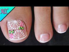 Toe Designs, Nail Arts, Toe Nails, Pedicure, Nail Polish, Lily, Erika, Pretty Pedicures, Templates