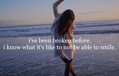 broken...