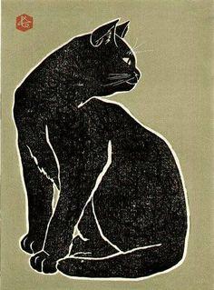 Retrophile — huariqueje:   Black Cat - Hasegawa Sadanobu III...